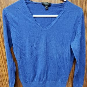 J Crew Royal Blue Sweater Size M
